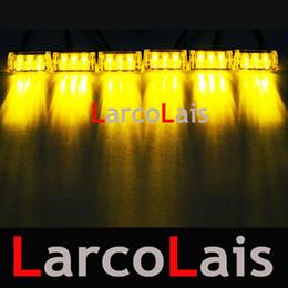 50pcs 6 x 3 LED Strobe Flash Warning Grille Car Truck Light Flashing Firemen Lights 3LED
