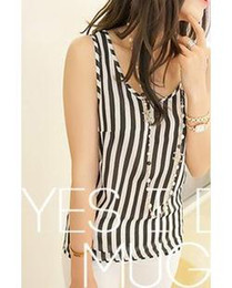 Wholesale 7885 exclusive custom Korean women wild summer new chiffon vest bottoming shirt small shirt
