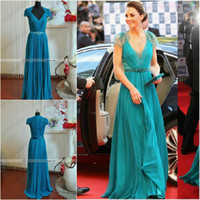 Kate Middleton Jenny Packham green celebrity Red Carpet Wedd...