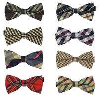 Knitted arrival knitting design - 50 New Arrivals Men s Cotton geometric Design Bow ties Men Vintage Wedding party pre tie Bow tie MT10