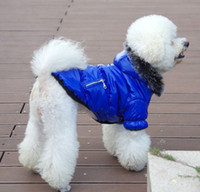 Wholesale New coming Pet dog winter coat Dog clothes Winter pet apparel Dog warm clothes