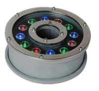Wholesale dia mm AC24V W led underwater fountain lawn garden outdoor led light waterproof IP68