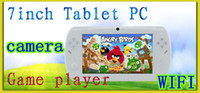 Wholesale 7 Inch Handheld Game Player GB Capacitive Tablet PC With Dual Camera WIFI Android Portable Multimedia Player