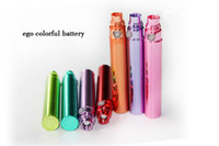Electronic Cigarette Battery  650mAh 900mAh 1100mAh EGO Battery Colorful Chrome Battery for EGO Series 510 CE4 CE4+ Electronic Cigarette E-Cigarette E-Cig