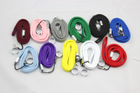 Wholesale Good quality colourful eGo necklace nice EGO T lanyard Strap Hang Rope Sling with Steel Ring for EGO t ego w ego Battery
