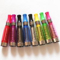Wholesale Hot CE5 Clearomizers CE5 Atomizer ml ohm No Wicks drip tip E cigarette CE5 for electronic cigarettes kit eGo T battery Colorful DHL
