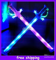 Wholesale Flash Music Sword Light Sword Toy Sword Musical Flash Toy Led Sword with Music cm cm