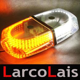 High Power 240 LED Car Roof Flash Strobe Magnets Emergency EMS Light Flashing Lights 240LED Amber White