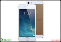 Wholesale Goophone i5s I5c I5 MTK6572 Dual Core nano SIM inch Screen android GHz Smartphone GB ROM Cell phone