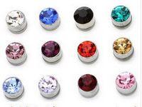 Wholesale Man girl magnet stud earrings magnet for stud earrings no ear pierced earrings clip on earrings ear clip
