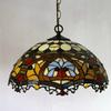 Baroque Tiffany Glass Pendant Lamp Chandelier Study Room Bedroom Light Dia 40cm H 100cm
