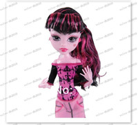 Wholesale LLFA3178 original the Monster High dolls scaris city of frights Series Genuine monster high fashion toy gift for girl