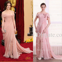 3d pictures - Inspired By Anna Kendrick Oscar Red Carpet Celebrity Dresses In Elie Saab with D Flower and Slit Dhyz buy one get free necklace