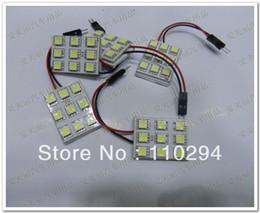 Free shipping!! 20pcs T10 9SMD 5050 led Light Panel Festoon Dome Interior Bulb 0 12V 9 smd reading led