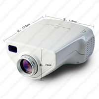 1080p led hdtv - A2 MINI EJL E03 Home Theater LED LCD Projector Lumens VGA HDMI P HDTV USB