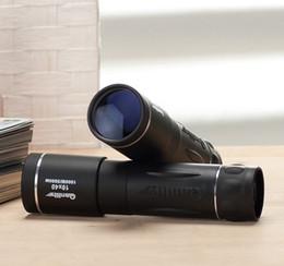 Hd militar en venta-10X40 militares hd monocular telescopio anteojos de visión nocturna