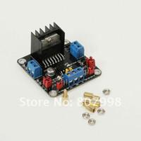 DC Stepper Motor Driver Module  L298N DC Motor Free Ship,L298N 25W Dual H-bridge DC Stepper Motor Driver Module Smart Car Driver Board 5V