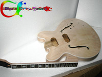 gibson - Best style Unfinished electric guitar body for gibson ES335 neck for DIY