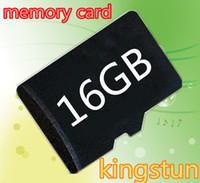 Wholesale 16GB Micro SD Card TF Memory Card Class GB Flash Micro SD SDHC Cards With Adapter Retail Packaging Blister Package From kingstun