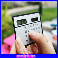 calculator - Card calculator Portable Slim calculator solar calculator