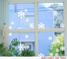 Wholesale Stickers de noel de noel de noel les autocollants de meubles en pâte de fenêtres Autocollants de décoration de Noël