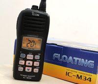 Wholesale IC M34 VHF marine ham way radio transceiver water proof