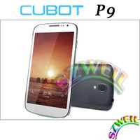 Cubot 5.0 Android 4.2 Cubot P9 MTK6572W Android 4.2 Dual Core 1.2GHZ With 5.0 IPS Inch Screen 4G ROM 960*540 8.0MP Camera 3G Unlock Smart Phone CB0491