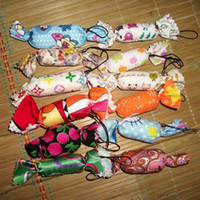 Cheap free shipping candy Flower cotton lovely cell phone strap mix color wedding gift mix order (100pcs a lot) b0532