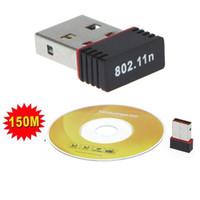Wholesale USB Mini WiFi Wireless Adapter Network Card n M C1008