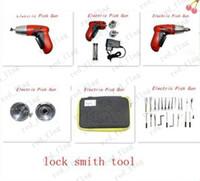 Wholesale Klom lock pick New Cordless Electric Pick Gun locksmith tool pick gun lock pick KLOM LLY95