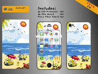 Wholesale Beach holiday item kawaii cartoon diy decoration sticker for iphone s iphone5 cute cell mobile phone one piece