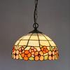 Tiffany Flowers Of Wealth Glass Pendant Lamp American Style Chandelier Study Room Bedroom Light Dia 30cm H 95cm