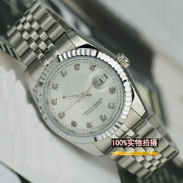 Wholesale Mens Automatic mechanical watches the world brand watches white dial