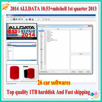 Wholesale 26 software in TB HDD Alldata Mitchell ECM2001 ECUsafe Winols With fast shipping