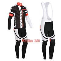Wholesale winter thermal Black Pinarello cycling jersey bibs pants Accept Custom designs and drop shipping