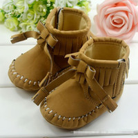 Spring / Autumn Fashion Boots Mid-Calf New Arrival US Style Waterproof Baby Girl boots,Hot sale Fashion Autumn baby booties, Soft Sole baby boots for Fashion girls, 6 pais lot!
