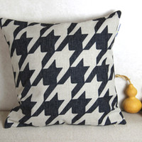 Wholesale Classic Geometric linen cushion covers home decor ikea pillow cover pillows decorate for a sofa pillow case decorative throw pillows cover