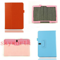 Wholesale Folio PU Leather Case Book Stlyish Cover Pouch for Samsung Galaxy Note Edition P600 P601