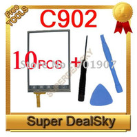 Wholesale New C902 Touch Screen Glass Digitizer for C902 dual sim Cell phone a
