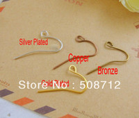 Wholesale mm Mixed Color Can Choose Minimalist Shepherds Hook Fish Hooks Earwires Earring Findings