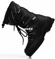 Unisex Adult Boots Special offer a clearance ski boots alpine Pro, 45 big yards men's shoes, boots waterproof shoes foreign trade
