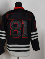 Wholesale New Season Ice Hockey Jerseys Black Hawks Hossa Black Discount Hockeys Embroidery Logo Athletic Apparel Allow Custom Hockey Wears