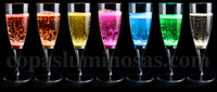 Wholesale 2013 new arrival Factory outlet fashion LED champagne cup Induction into the bright water flash glass