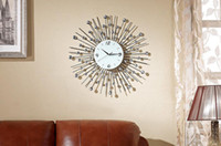 Wholesale Wrought Iron Wall Clock for decoration