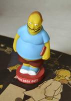 comic books - FUNKO The Simpsons COMIC BOOK GUY Bobble Head PVC Action Figure Toy