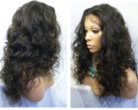 Wholesale Malaysian Curly indian human hair full lace wigs lace front wigs