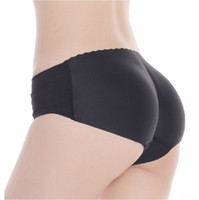 Wholesale Womens Black Sexy Padded Seamless Butt Hip Enhancer Shaper Panties Underwear Amazing DIE1