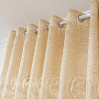 Wholesale Modern European court carved hollow end living room curtains jacquard screens High2 m m