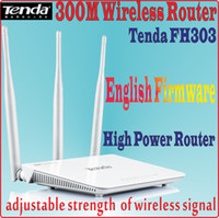Wireless antenna signal boosters - Englsh Firmware Tenda FH303 N300 M Wireless Router Wifi Repeater Network Router Range Expander Mbps dBi Antennas Signal Boosters