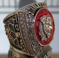 2013 Campeonato Copa C Blackhawks STANLEY tamaño Replica anillo 11 de Estados Unidos el mejor regalo para los fans de la colección de alta calidad
